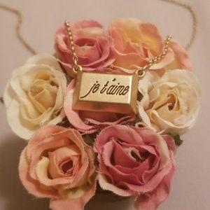 Lia Sophia Je t'aime Necklace